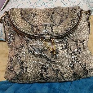 Snake skin Jessica Simpson crossbody purse